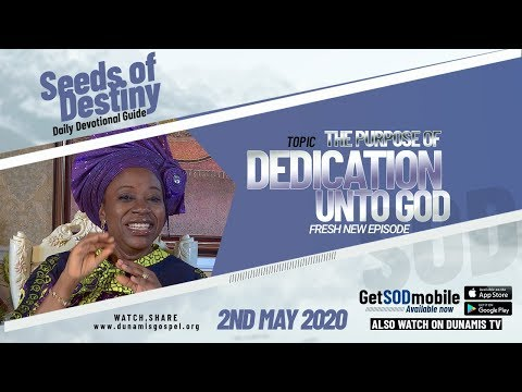 Dr Becky Paul-Enenche - SEEDS OF DESTINY  SATURDAY, 02 MAY, 2020