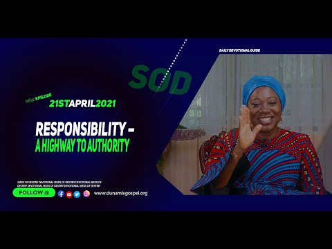 Dr Becky Paul-Enenche - SEEDS OF DESTINY  WEDNESDAY APRIL 21, 2021