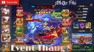 OMG 3Q | Event Tháng 8 - Mừng Phiên Bản Mới Cùng Số 1 Việt Nam - TỐP 1 Nhạc Phi Quá Mạnh