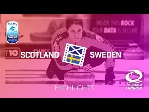 HIGHLIGHTS: Scotland v Sweden - Women - Le Gruyère AOP European Curling Championships 2018