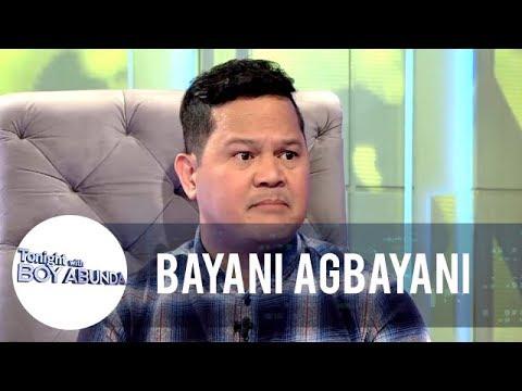 Bayani clarifies the issue involving him and Alex Gonzaga | TWBA
