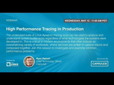 LF Live Webinar: High Performance Tracing in Production