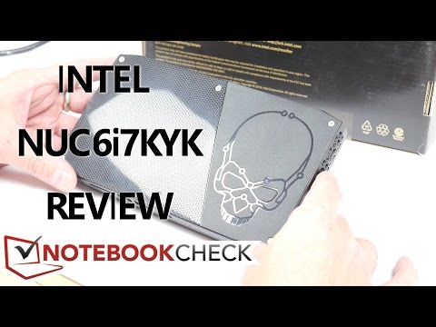 Skull Canyon NUC6i7KYK Review inc. Iris Pro graphics tests.