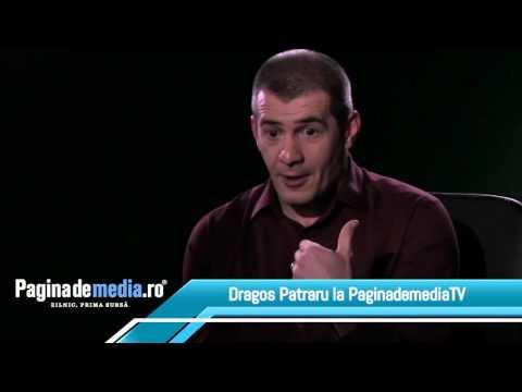 Paginademedia.ro. Dragoș Pătraru le răspunde celor care spun că este un cititor de prompter