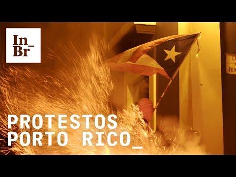 #RickyRenuncia: Protestos levam à queda do governador de Porto Rico