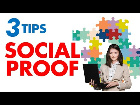 3 TIPS for PRINT ON DEMAND Social Proof (Buyer Psychology)