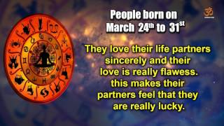 Basic Characteristics of people born between March 24th to March 31st