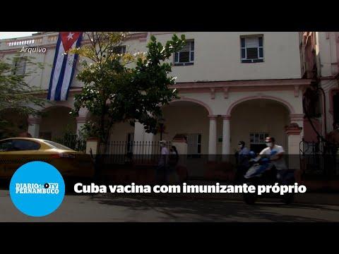 Cuba inicia vacinação contra a Covid-19 com imunizante próprio