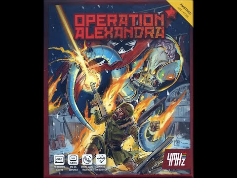 Desemboxing Operation Alexandra (Amstrad CPC)