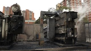 Witnesses speak after substation explodes in Caracas