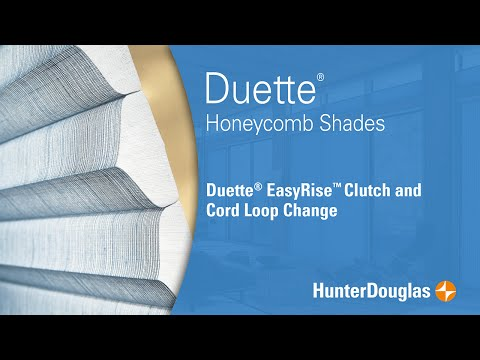Duette® Honeycomb Shades - EasyRise™ Cord Loop Replacement - Hunter Douglas