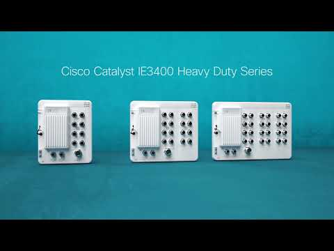 Cisco Catalyst IE3400 Heavy Duty Series