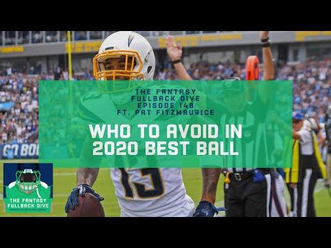 Who to Avoid in 2020 Fantasy Best Ball | Fantasy Football Podcast