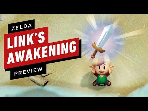 The Legend of Zelda: Links Awakening - Final Preview - UCKy1dAqELo0zrOtPkf0eTMw