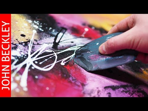 Abstract Painting Demonstration | Shine