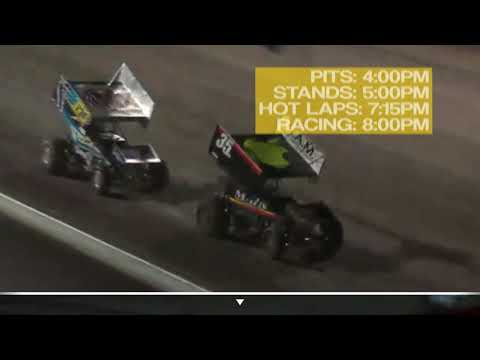 Lucas Oil ASCS at Lakeside Speedway Aug 3 - dirt track racing video image
