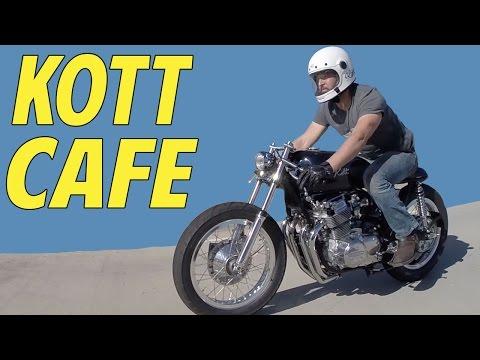 Kott Motorcycles 1974 Honda CB750 Cafe Racer