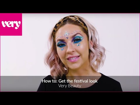very.co.uk & Very Discount Code video: How to: Get the festival look- Very Beauty