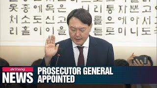 President appoints Yoon Seok-yeol as prosecutor general