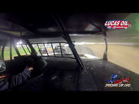 #54 Shawn Whitman - B Mod - 5-1-2021 Lucas Oil Speedway - In Car Camera - dirt track racing video image