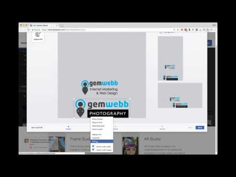 How to create Facebook Camera Effect Company Logo - UCtw9gVoRSrRyMVZU8G7YKhQ