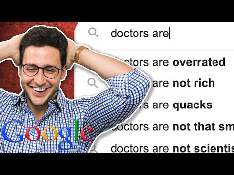Doctor vs. Google | Doctors Are...Overrated - UC0QHWhjbe5fGJEPz3sVb6nw
