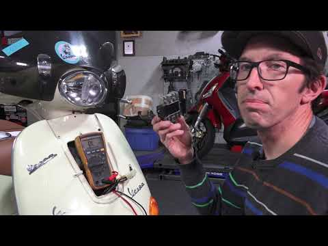 How To Diagnose a Faulty Charging System on a Vespa Scooter