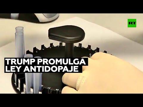 Trump promulga la ley antidopaje Ródchenkov