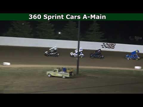 Grays Harbor Raceway, July 10, 2021, 360 Sprint Cars A-Main - dirt track racing video image