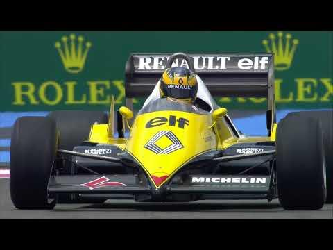 Revivez en image la magnifique Parade Renault pour le retour Grand Prix de France F1 !