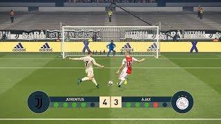 JUVENTUS vs AJAX   Penalty Shootout   UEFA Champions League - UCL   PES19