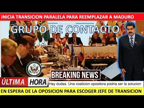 Ya inicio la transicion paralela para cambiar a Maduro
