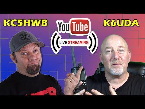 Lunchtime Livestream with Bob, K6UDA