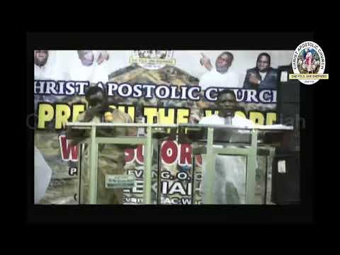 Prophet/Evang. Hezekiah O Oladeji - CAC General Evangelist Live Stream