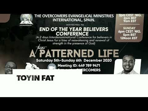 Believers Conference 5th & 6th December Invitation