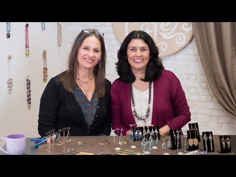 Artbeads Cafe - Statement Earrings with Cynthia Kimura and TierraCast's Tracy Gonzales