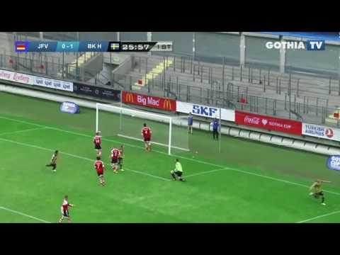All the goals from B18 JFV HANSE LÜBECK - BK HÄCKEN in Gothia Finals 2016