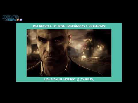 """RetroMadrid 2018 - Conferencia """"Del Retro a lo Indie: mecánicas y herencias"""""""