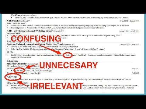 Résumé words that make hiring managers cringe