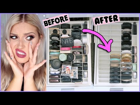 Powder & Bronzer  ? ORGANIZE AND DECLUTTER MY MAKEUP COLLECTION! ?
