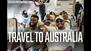 NEXT STOP: AUSTRALIA // OFF COURT TRAVELS WITH MEN'S NATIONAL TEAM