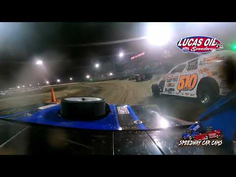 #17 Neil Johnston - Usra B-Modified - 10-8-2021 Lucas Oil Speedway - In Car Camera - dirt track racing video image