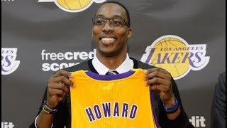 Dwight Howard Signing With The Lakers - Joining LeBron James And Anthony Davis