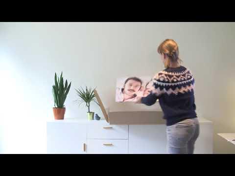 Tavelvägg inspiration - hur gör jag enklast en egen fotovägg?