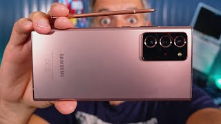 vidéo test Samsung Galaxy Note 20 Ultra par Monsieur GRrr
