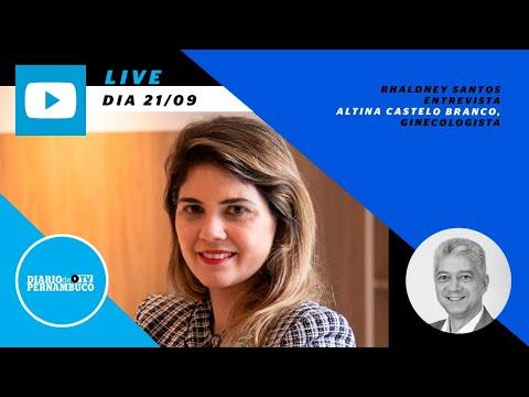 Rhaldney Santos entrevista a ginecologista Altina Castelo Branco