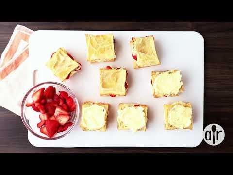 How to Make Strawberry Napoleons | Dessert Recipes | Allrecipes.com