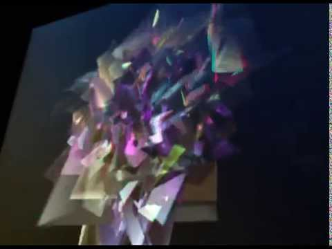 The Superusers - anaglyph 3D performance - live at Electrolegos - excerpt 1