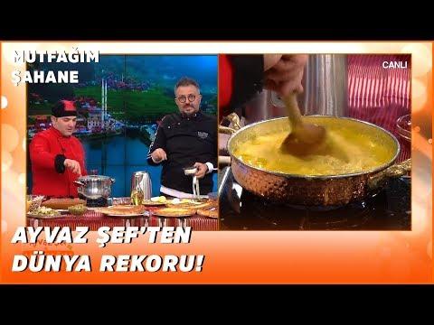 Ayvaz Şef Kuymak Rekoru Kırıyor! - Ayvaz Şef'le Mutfağım Şahane - 20 Şubat 2020