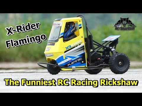 Worlds First 2WD Electric RC Racing Rickshaw X-Rider Flamingo - UCsFctXdFnbeoKpLefdEloEQ